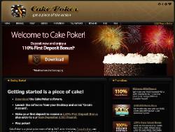 Cake Poker revue logo