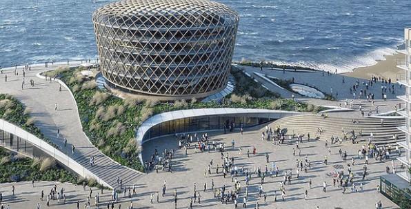 Belgique : à Middelkerke, un nouveau casino ancré dans un ouvrage qui suscite la fascination !